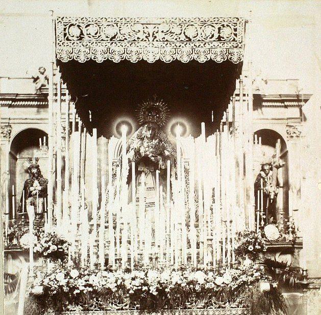 Las primeras marchas procesionales en la Semana Santa de Sevilla