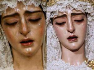 Encarnación antes y después de la restauración