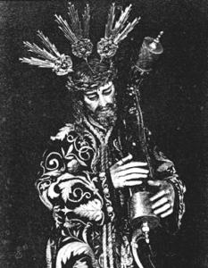 Nuestro Padre Jesús de las Penas, primer Titular de San Roque