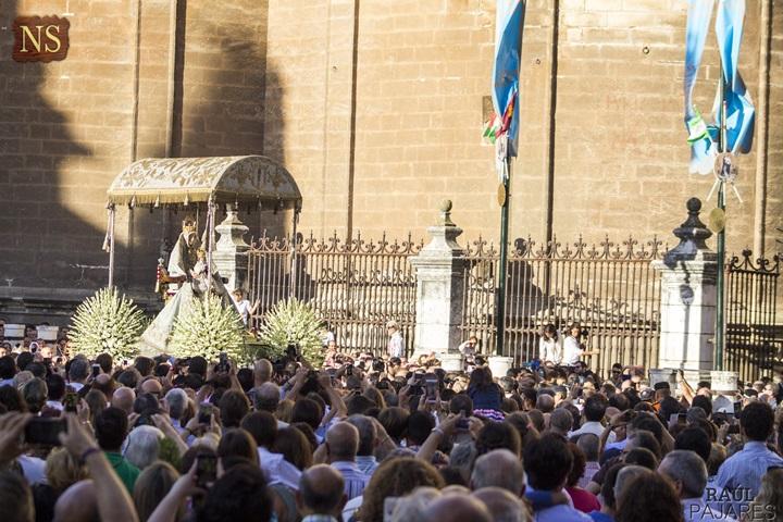 Hoy, la procesión de la virgen de los Reyes en Ondaluz TV