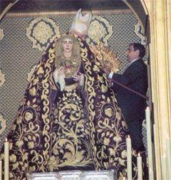 Coronación Canónica Dolores del Cerro 2002. Foto-Facebook