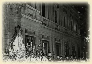 Coronación Canónica Mercedes de Puerta Real 1972. Foto-Web de la Hermandad
