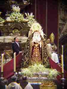 Coronación Canónica Virgen de la Palma, Buen Fin. Foto-Galeón