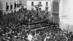 Cristo de la Buena Muerte de la Hiniesta en 1.930 | Foto: ABC