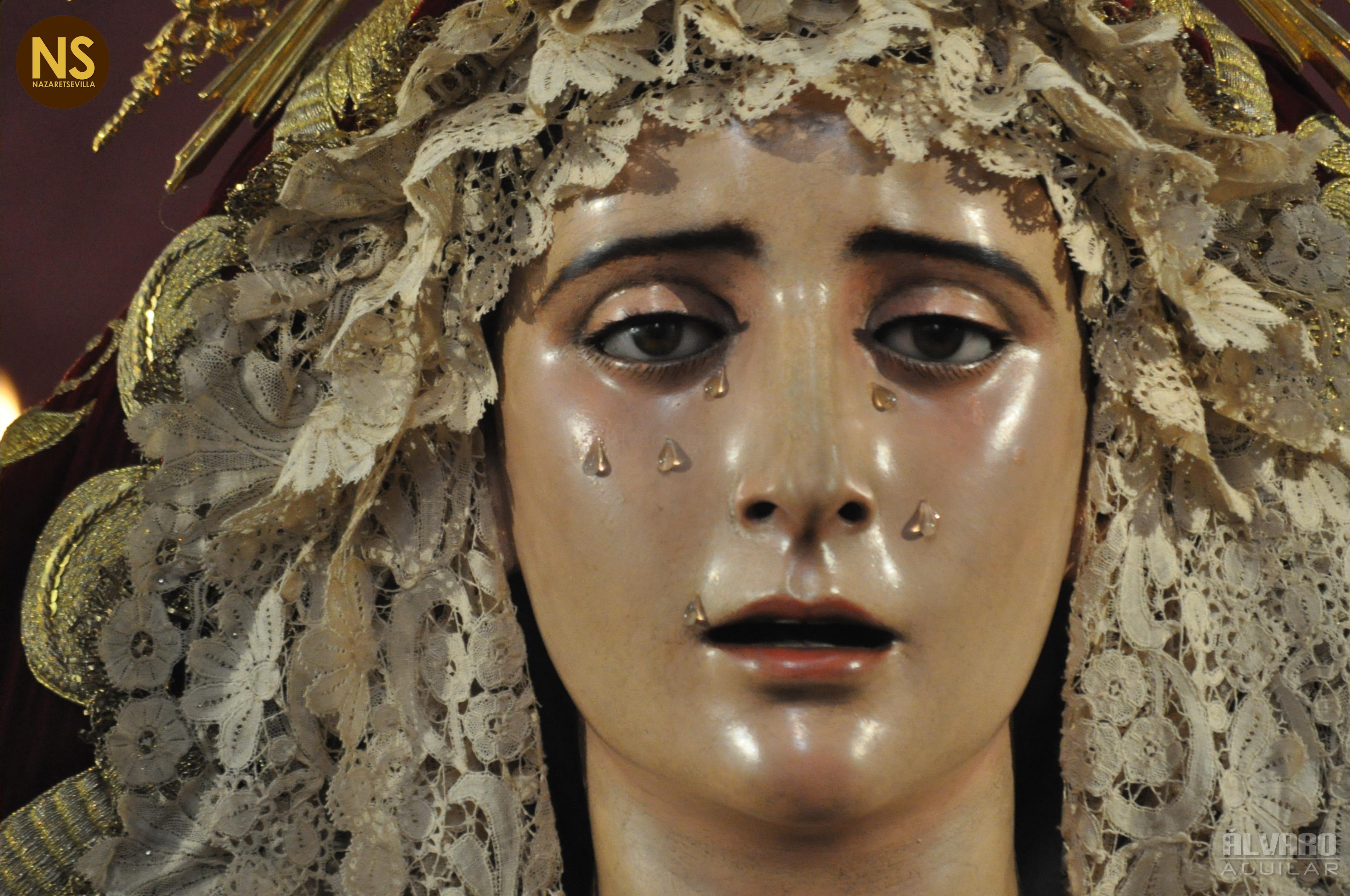 Resultado de imagen de Rosario de la aurora de la virgen de los Dolores del Cerro (Sevilla)