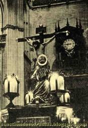 Cristo de la Buena Muerte de la Hiniesta- Foto-Cuestión de Cofradías