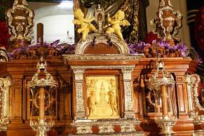 Delantera misterio Buena Muerte y Magdalena, la Hiniesta. Foto-Galeón