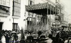 Palio anterior al de Manuel Rodríguez Ojeda. Año 1.920. Foto-ABC