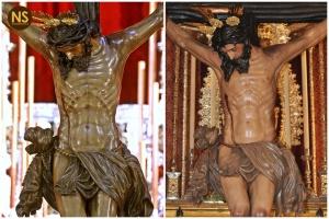 Buena Muerte de la Hiniesta antes y después de la restauración