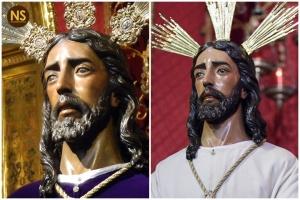 Jesús ante Anás, antes y después de la restairación