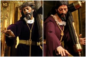 Nazareno del Valle antes y después de la restauración