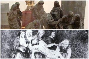 Bocetos de Sebastián Santos y Pérez Comendador para Santa Marta   De Nazaret a Sevilla