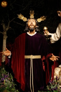 Oración en el Huerto de Monte-Sión. Besapiés 2016 | Tomás Quifes
