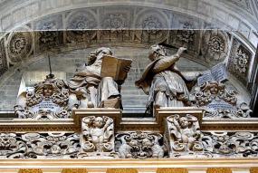 Los cuatro Evangelistas y los cautro Padres de la Iglesia | Leyendas de Sevilla
