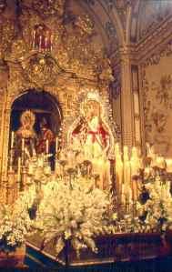 Virgen de la Cabeza, años 50 en San Juan de la Palma. Foto-Rafaes
