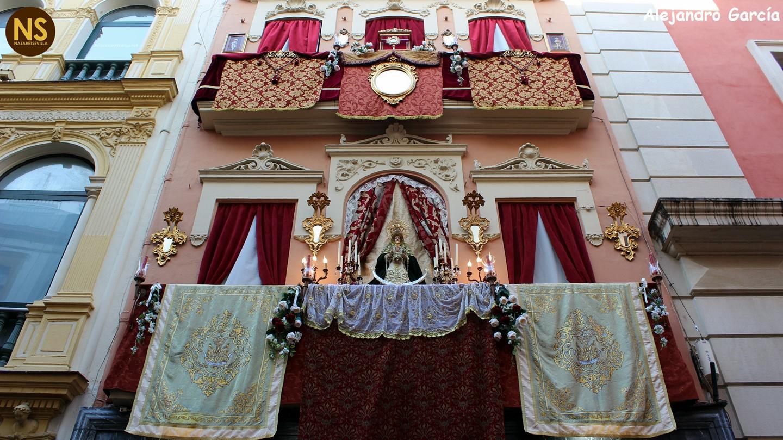 Resultado de imagen de Corpus Christi sevilla escaparate