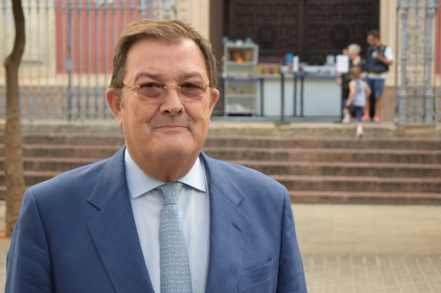 Joaquín Sainz de la Maza, candidato al Consejo de Hermandades y Cofradías. / ElPrograma