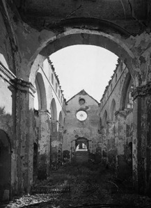 San Román tras el incendio de 1936