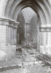 Omnium Sanctorum tras el incendio de 1936