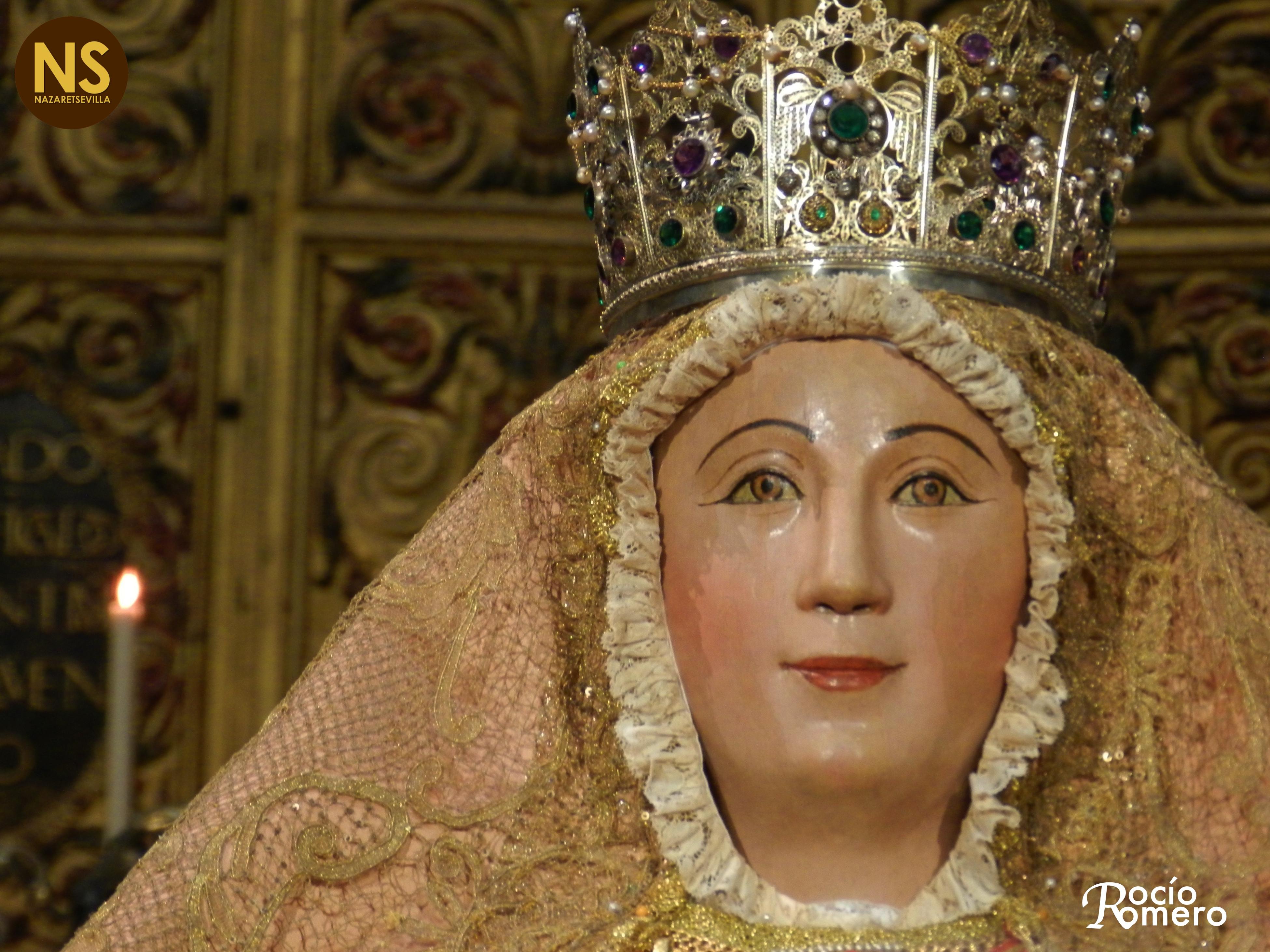 La virgen de los reyes despide a sevilla en su segundo for Mudanzas virgen de los reyes