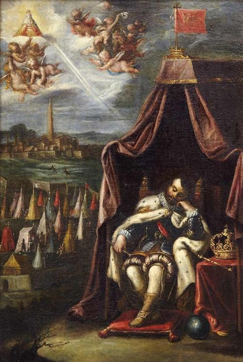 El sueño del rey san Fernando para Sevilla