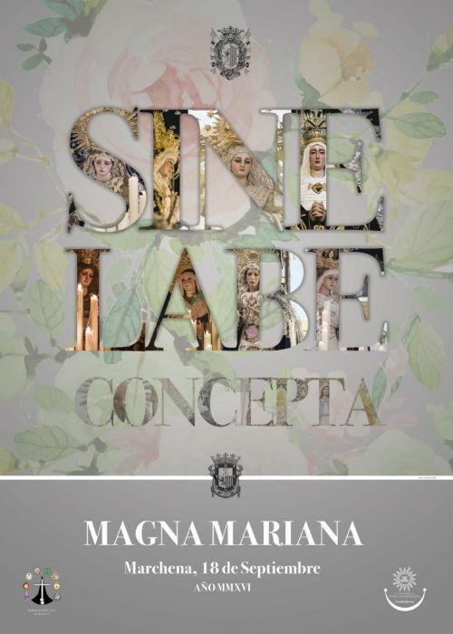 Cartel Magna Mariana de Marchena | Antonio Calle