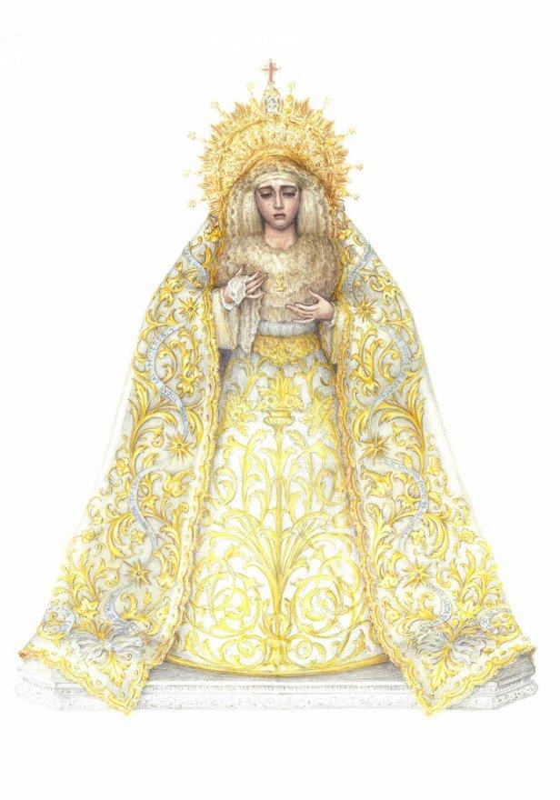 Diseño de Javier Sánchez de los Reyes para la coronación de la Salud de San Gonzalo