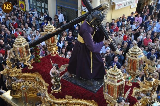 José Cerezal confiesa que su gran devoción es el Señor del Gran Poder. / Álvaro Aguilar.