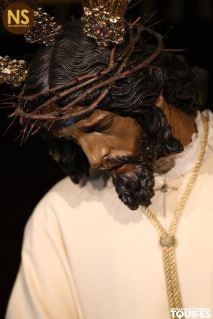 Señor de las Penas de San Roque, gran devoción de Marcelino Manzano. / Tomás Quifes.