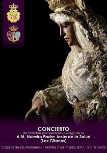Cartel concierto de los Gitanos en la Esperanza de Triana
