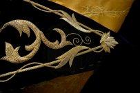 Mantolín bordado para el señor de la Redención