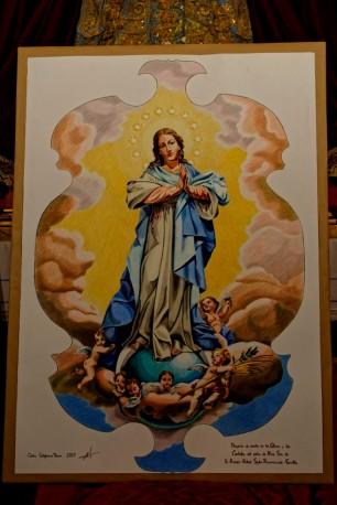 Cartelas y techo de gloria Resurrección