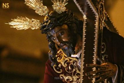 Tres Caídas de la Esperanza de Triana. Traslado de regreso a su capilla 2017   Francisco Santiago