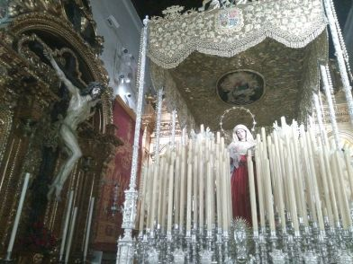 palio virgen del Rosario de Monte-Sión | Carlos Iglesia