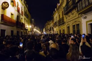Esperanza de Triana en el traslado de vuelta 2017 | Baltasar Núñez