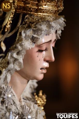 Virgen de la Estrella. Besamanos 2017   Tomás Quifes