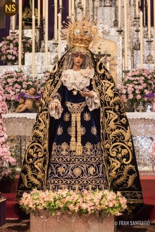 Virgen del Valle. Besamanos 2017   Francisco Santiago