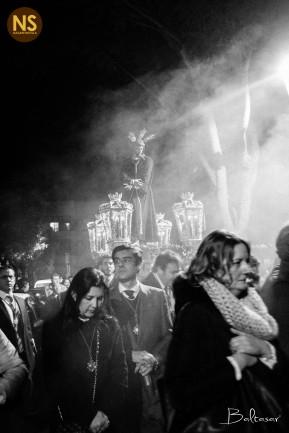Soberano Poder de San Gonzalo. Viacrucis extraordinario 2017   Baltasar Núñez