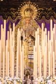 Virgen de las Lágrimas, La Exaltación. Jueves Santo 2017 | José Carlos B. Casquet