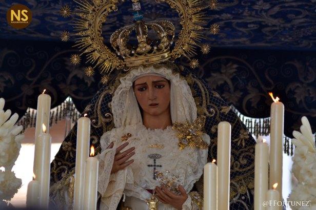 Virgen de la Hiniesta. Domingo de Ramos 2017 | Javier Fortúnez