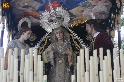 Virgen del Sol. Sábado Santo 2017 | Álvaro Aguilar.