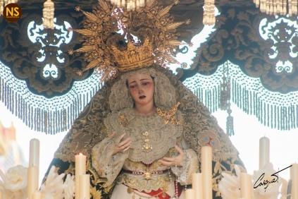 Virgen de la Esperanza, la Trinidad. Sábado Santo 2017 | José Carlos B. Casquet