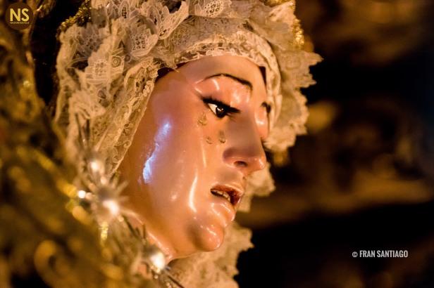 Virgen de la Estrella. Domingo de Ramos 2017 | Francisco Santiago