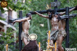 Conversión del Buen ladrón, Montserrat. Viernes Santo 2017 | Tomás Quifes