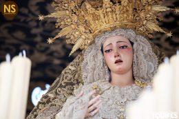 Virgen de la Esperanza, la Trinidad. Sábado Santo 2017 | Tomás Quifes