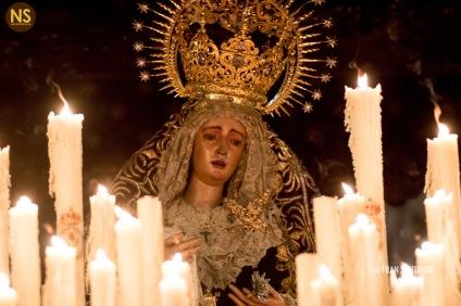 Virgen del Valle. Jueves Santo 2017 | Francisco Santiago