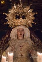 Virgen de la O. Viernes Santo 2017 | Francisco Santiago