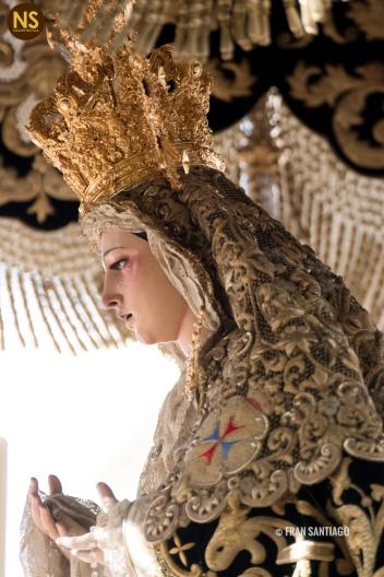 Virgen de la Esperanza, la Trinidad. Sábado Santo 2017 | Francisco Santiago