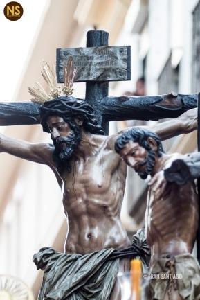 Conversión del Buen Ladrón, Montserrat. Viernes Santo 2017 | Francisco Santiago