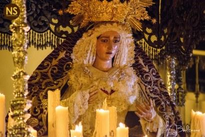 Virgen de la O. Viernes Santo 2017 | Baltasar Núñez